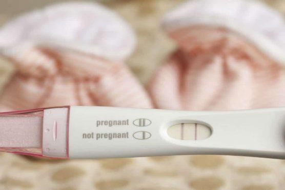test de embarazo casero