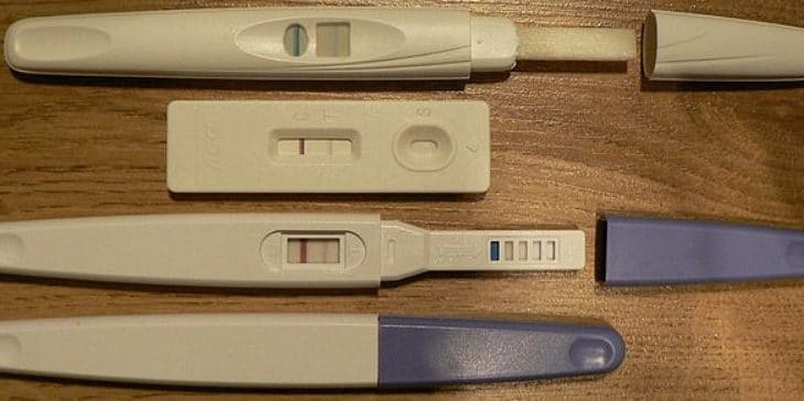 falsos positivos en test de embarazo