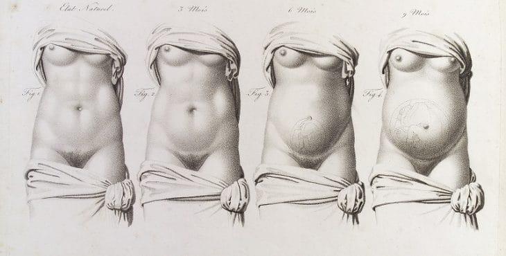 Dolor de vientre y espalda baja embarazo