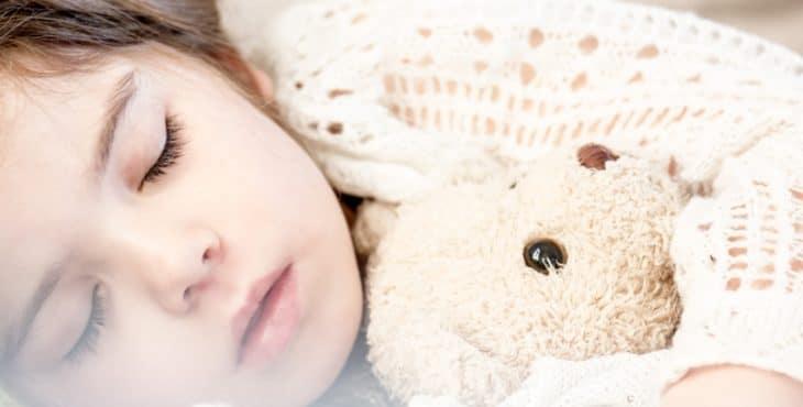 La niña dormida