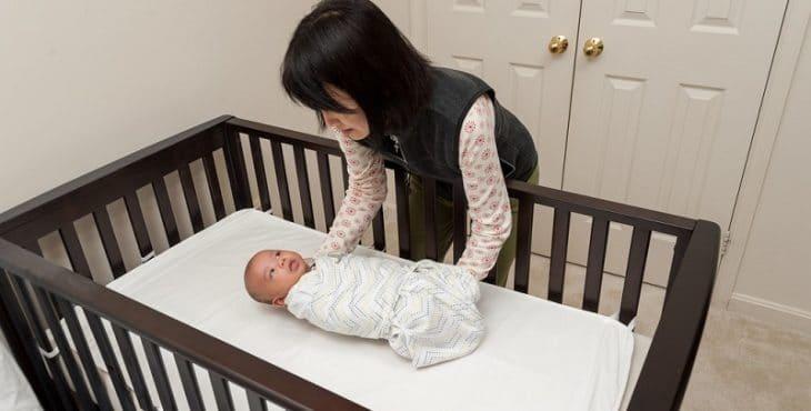 bebé debe drormir boca arriba