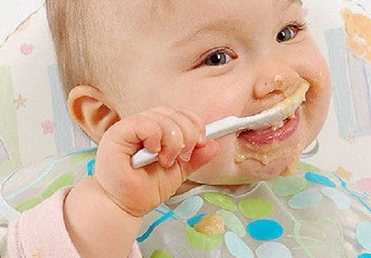 Alimentacion de un bebe de 6 a 12 meses