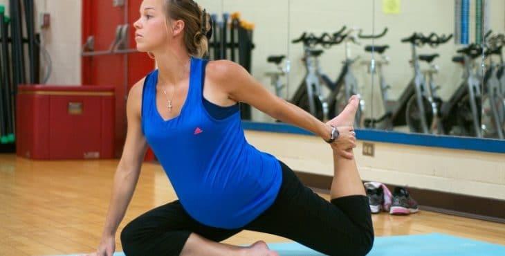 El ejercicio ayuda a la embarazada