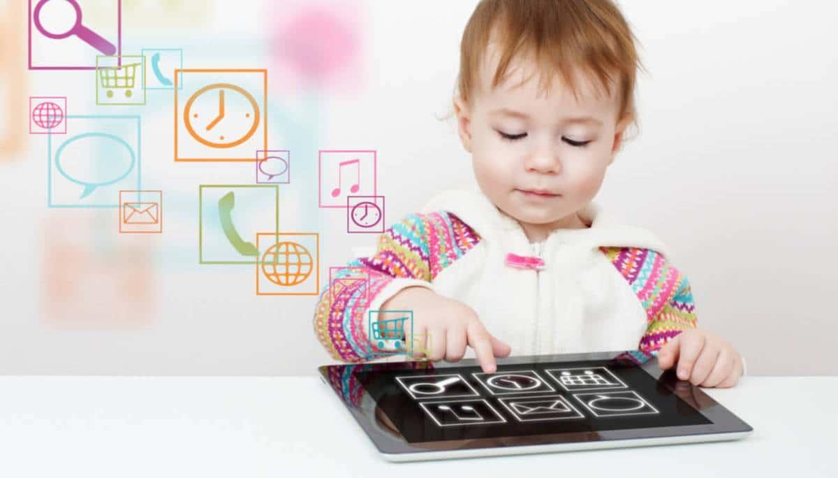 Resultado de imagen para la tecnologia como chupete para niños