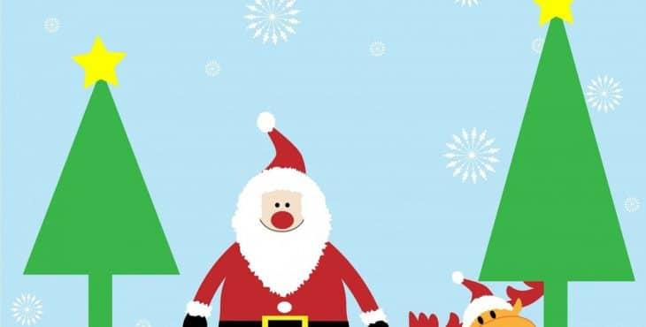 Dibujos De Navidad Para Colorear Y Decorar El Salón