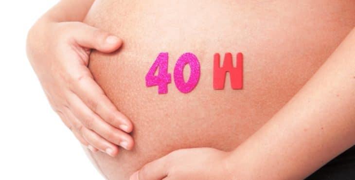 Embarazada de 40 semanas