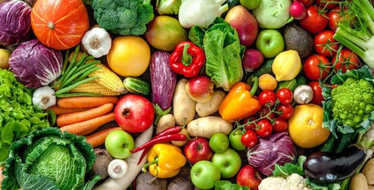 recetas de verduras con colores intensos.