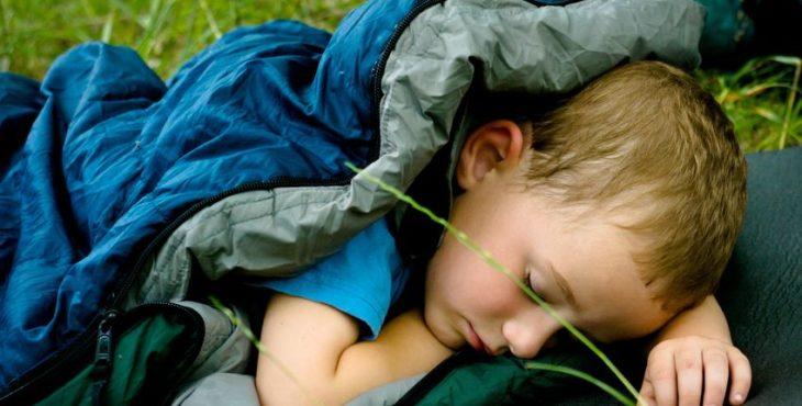 Saco de dormir para bebé para el exterior
