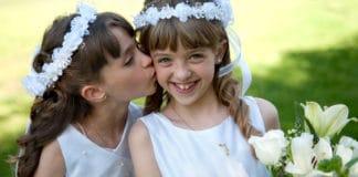 Opciones de regalos de comunión para niñas