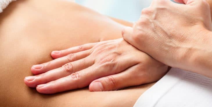 vientre materno y masajes