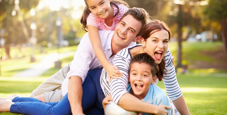 Familia de acogida