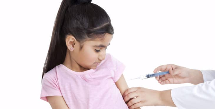 Vacunas infantiles y la edad para ellas