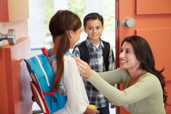 Cómo se adapta al colegio en el primer día.