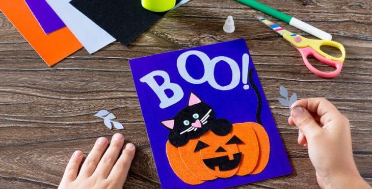 Manualidades Para Halloween Que Pueden Hacer Los Niños