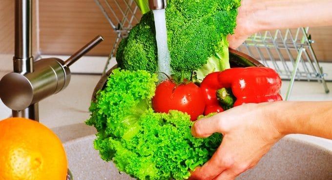 Evitar el contagio por vegetales frescos