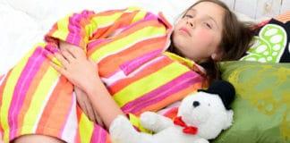 Síntomas de una apendicitis en niños