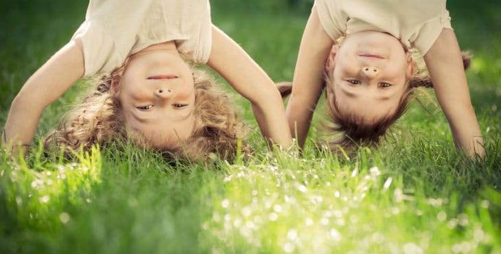 Yoga para niños de manera divertida