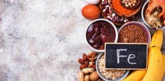 Alimentos con elevado contenido de hierro