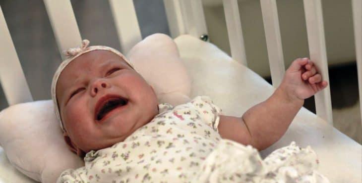 Con el llanto los bebés expresan sus molestias