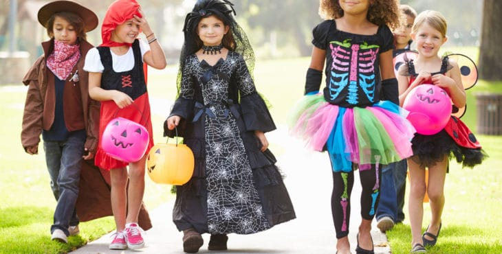 varios disfraces para Halloween
