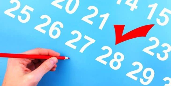 Errores en la estimación de la fecha
