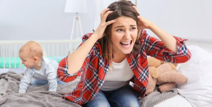 qué es la depresión postparto