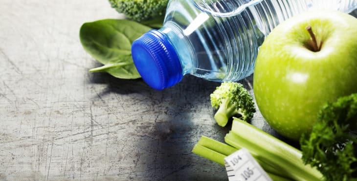 Hidratación, vegetales y frutas