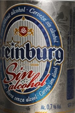 Cerveza con 0.7% de alcohol
