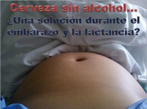 Cerveza sin alcohol y embarazo