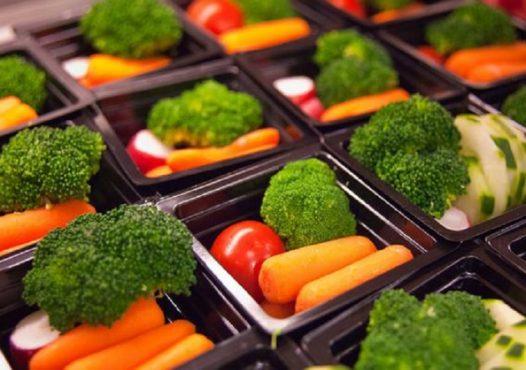 Meriendas de verduras