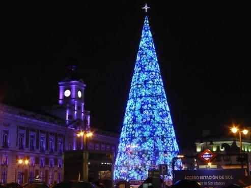 Árbol de Navidad Madrid